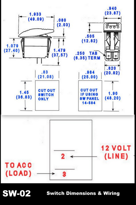 Desktop on Rocker Switch Wiring Diagram