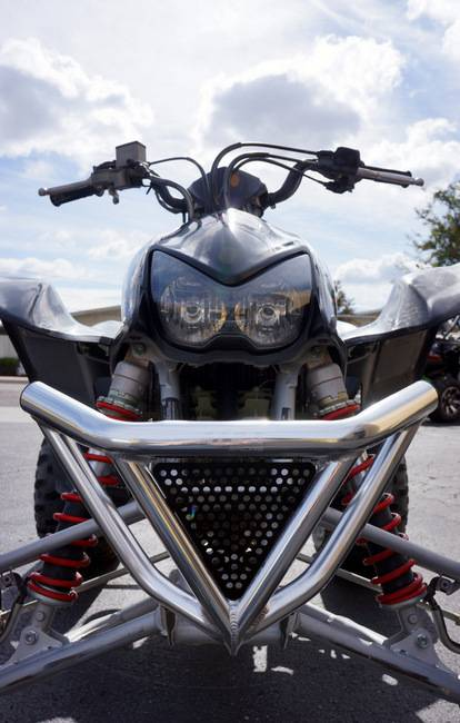 Honda 400 Ex >> Honda TRX 400EX Intimidator Front Bumper (Black or Silver)
