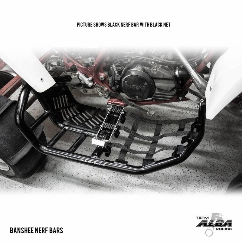 Best Side By Side Atv >> Yamaha Banshee YFZ 350 Pro Peg Nerf Bars (all years) | Alba Racing