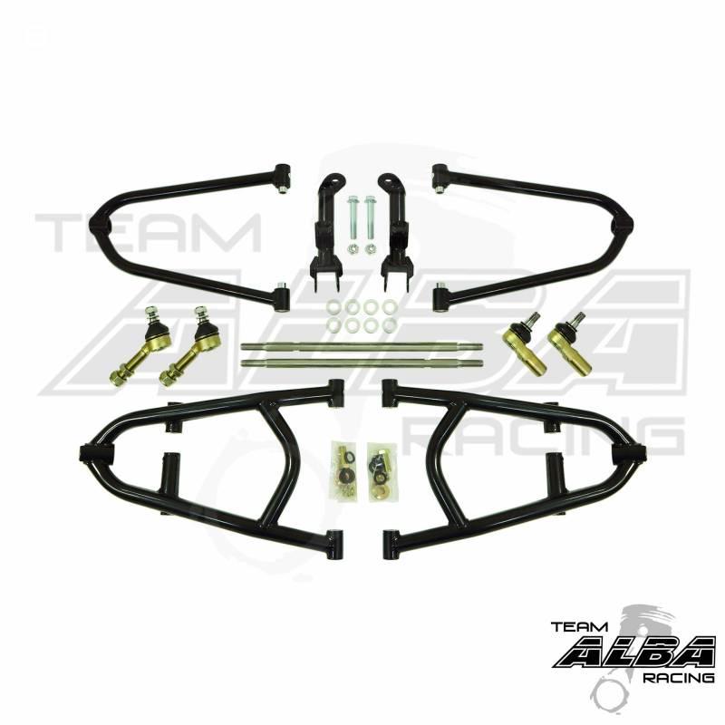 Honda Trx450r Adjustable Long Travel A Arm Alba Racing