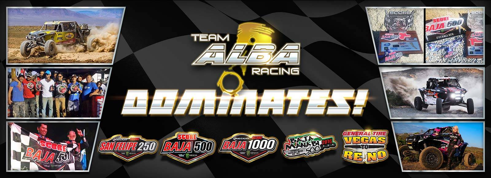 Team Alba Racing - ATV Racing Parts & UTV Performance Parts