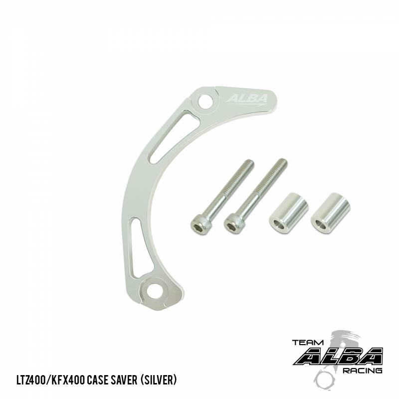 LTZ 400 KFX 400 DVX 400   Case Saver  Billet Aluminum   Alba Racing   206 Black