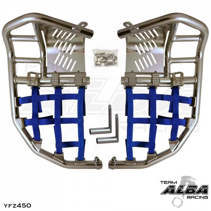 LTZ 400 Pro Peg Nerf Bars (Choose colors) | Alba Racing