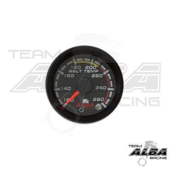 UTV/ATV All Weather Belt Temperature Gauge | Alba Racing