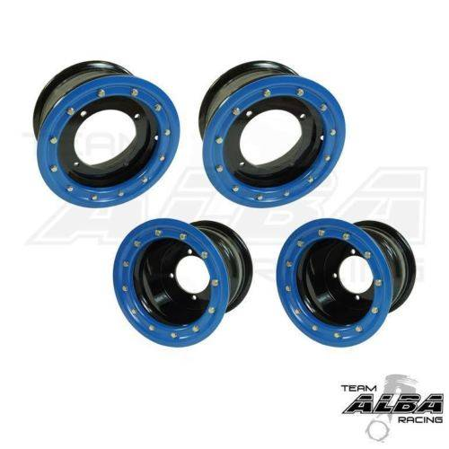 YFZ 450 YFZ 450R 450X  Rear Wheels  Beadlock  9x8  3+5  4//115 Alba Racing  P O