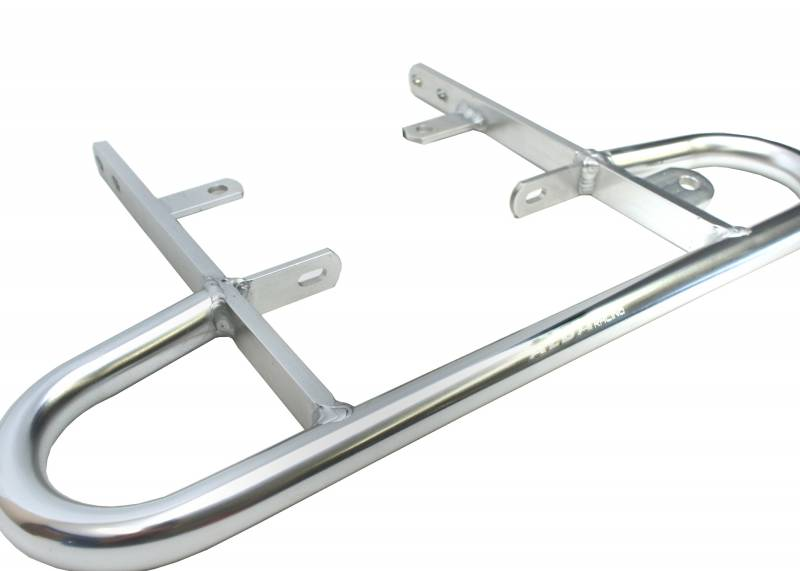 Silver XFR 2004-2008 Extreme Fabrication Aluminum Off-Road Wide Grab Bar Kawasaki KFX400