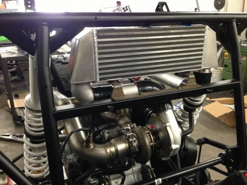 K&T RZR 1000 turbo kit