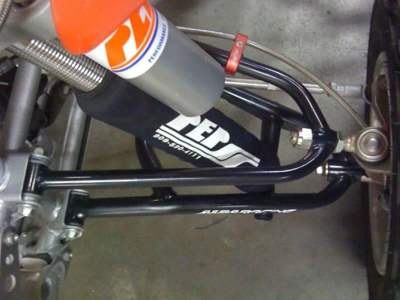 Camber And Caster >> HONDA TRX450r ADJUSTABLE LONG TRAVEL A-ARM | Alba Racing