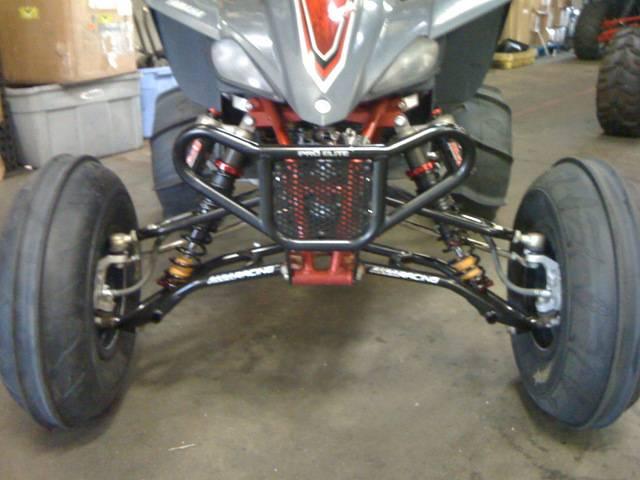 Yamaha Raptor 700 For Sale >> Alba Racing Long Travel A-Arms for YFZ 450
