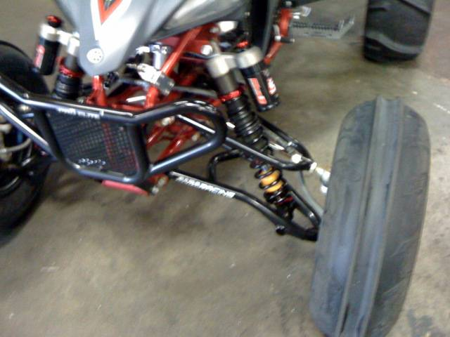 Alba Racing Long Travel A Arms For Yfz 450