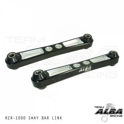 Polaris RZR XP1000 & RZR Turbo Alba Racing Billet Sway Bar Links in Black