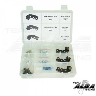Alba Racing Polaris XP900 Adjustable Clutch Weights