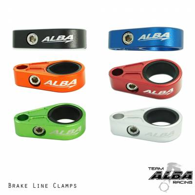 atv brake line clamps