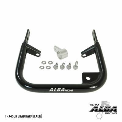 TRX 450R black grab bar