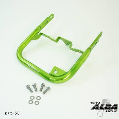 Alba Racing KFX 450R green grab bar