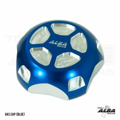 Alba Racing Billet RZR Gas Cap Blue