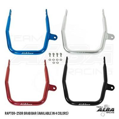 Yamaha Raptor 125  Raptor 250 Grab Bar Bumper (Black, Silver, Red and Blue) - Image 1