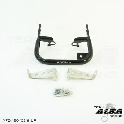 Yamaha - Yamaha YFZ 450  Grab Bar Bumper - 2006 and up (Black, Silver, Blue or Red)