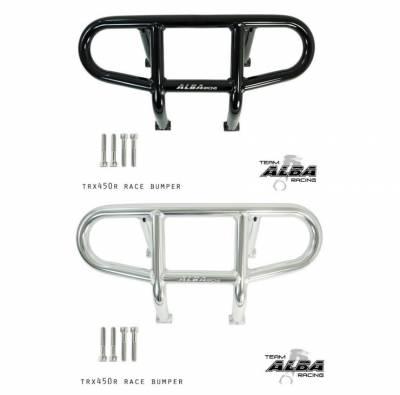 Honda TRX 400EX / TRX 450R Traditional Front Bumper (Black or Silver)