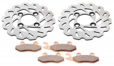 Yamaha - Alba Chompers Brake Disc Rotor and Pads