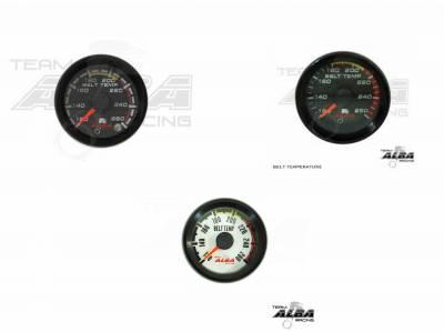 Alba Racing All Weather Belt Temp Gauges