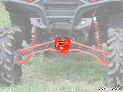 SuperATV Polaris RZR XP 900 Rear Receiver Hitch - Image 1