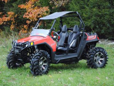 Polaris RZR570 Rock Sliding Nerf Bars