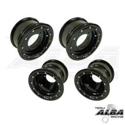 Alba Racing Bead Lock Black with Black Ring