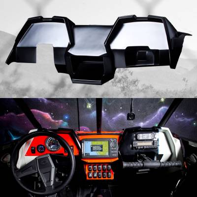 RZR XP1000 & RZR Turbo Fiber Glass Dash kit by GlazzKraft