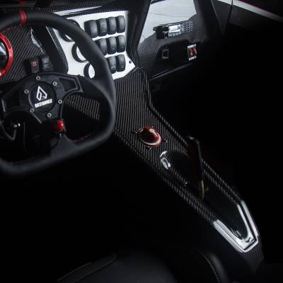 RZR XP1000 & RZR Turbo Carbon Fiber Center Console