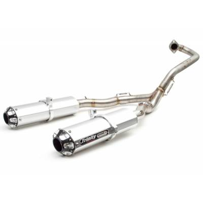 Trinity Racing Stage 5 Yamaha Raptor Dual Exhaust System