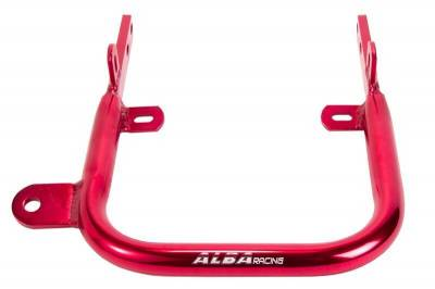 Alba Racing Yamaha Warrior Grab Bar in Red