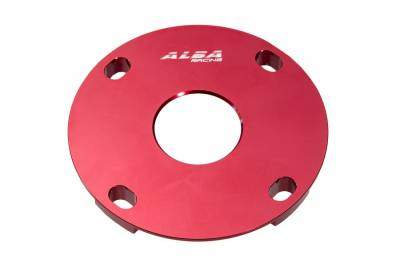 CanAm X3 Belt Seal Guard in red