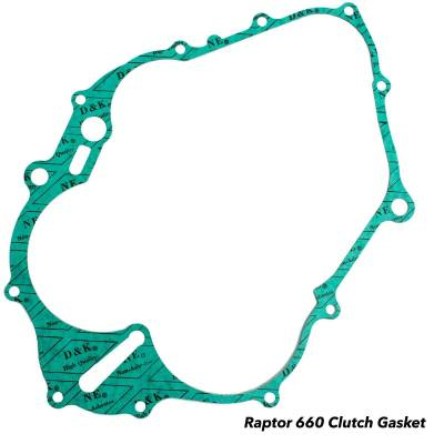 Alba Racing Raptor 660 Clutch Cover Gasket