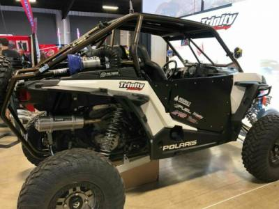 "Trinity Racing ""Stinger"" RZR XP1000 Exhaust System (Brushed or Black) / ECU PACKAGE - Image 1"