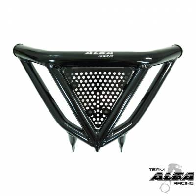Alba Racing Yamaha Banshee Intimidator Front Bumper Black