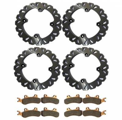 CanAm X3 Pads and Rotors