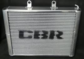 Oversize race radiator CBR RZR 900