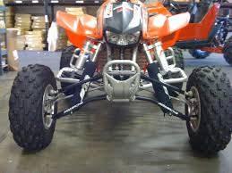 HONDA TRX450r ADJUSTABLE LONG TRAVEL A-ARM   Alba Racing