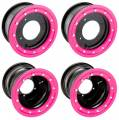 Alba Racing Bead Lock Black with Pink Ring