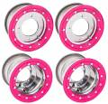 Alba Racing Bead Lock Polished with Pink Ring
