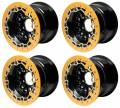 Billet UTV Bead-Lock Wheels in Gold