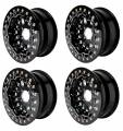 Billet UTV Bead-Lock Wheels in Black
